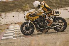 Colonel Butterscotch: A custom Suzuki Bandit 1200 from ICON 1000 Major Tom, Custom Motorcycles, Custom Bikes, Indian Motorcycles, Triumph Motorcycles, Vintage Motorcycles, Frankenstein, Sv 650, Daytona