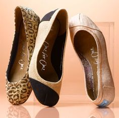 TOMS new collection of ballet flats - just ordered leopard!