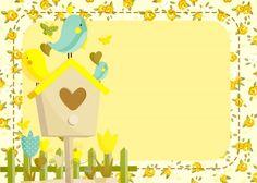 Convite Jardim Encantado Amarelo Provençal 2