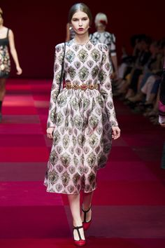 Dolce & Gabbana collection printemps-été 2015 #mode #fashion