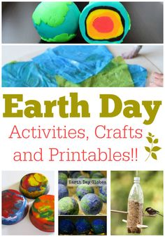 Earth Day Ideas: Activities, Crafts and Printables