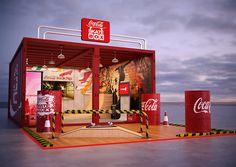 Coca-Cola Skate BOX on Behance