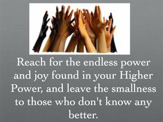 All joy and power is within