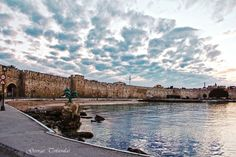 My island Rhodes Greece through G.T eyes Harbour