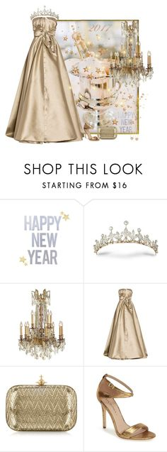 """""""Happy New Year!"""" by easy-dressing ❤ liked on Polyvore featuring Alexis Mabille, Vivienne Westwood, Via Spiga, Ross-Simons, WhatToWear, polyvoreeditorial, goldgown and tiera"""