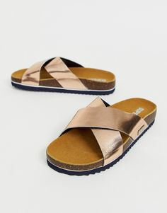 Buy Superdry cross strap sandal at ASOS. Get the latest trends with ASOS now. Saved Items, Superdry, Strap Sandals, Fashion Online, Latest Trends, Asos, Stuff To Buy, Shopping, Moda Femenina