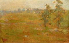 The Athenaeum - Summer Landscape (John Twachtman - No dates listed)
