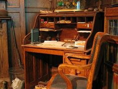 desk with lots of drawers antique - Google Search