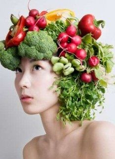Alimentos bons para os cabelos!
