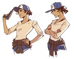 Clementine from The Walking Dead I'm very curious what we'll see in next season of Telltale's game