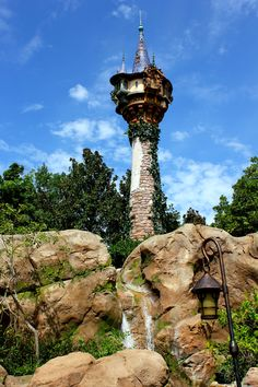 Rapunzel's Tower, Disney World, Florida. Going in November and I can't wait for fantasy land.