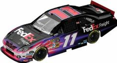 Denny Hamlin Lionel Nascar Collectables Fed Ex Freight Diecast by RacingGifts. $64.00. This new Lionel Nascar Collectable is a 1:24 scale limited edition flashcoat color diecast collectible that includes over 100 working total parts. With a diecast body and chassis, this sleek replicas authenticity is evident. Key features also include: hood and trunk open, manufacturer-specific engine detail, accurate header contour and simulated exhaust openings. Each 1:24 scale diecast will ...