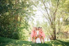 Bend Oregon Outdoor Wedding at Rock Springs Ranch
