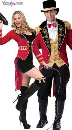 Circus Ringmaster Couples Costume- $71.95 #Yandy #Halloween #CouplesCostume  sc 1 st  Pinterest & The 122 best Halloween costumes images on Pinterest | Halloween ...