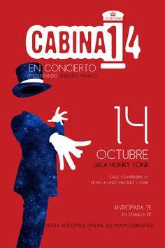Concierto de Cabina 14 en Madrid