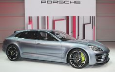 Porsche Panamera Sport Turismo Concept First Look - 2012 Paris Auto Show - Motor Trend