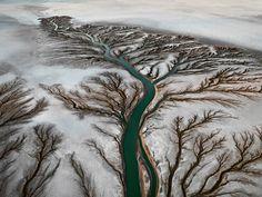 libraryquiet:  Colorado River Delta #2 Near San Felipe, Baja, Mexico, 2011, by Edward Burtynsky
