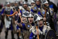 Up Helly Aa Fire Festival, January 27'th, 2014, http://highend-traveller.com/helly-aa-fire-festival-scotland-27-january-2014/ #travelling #highend-traveller