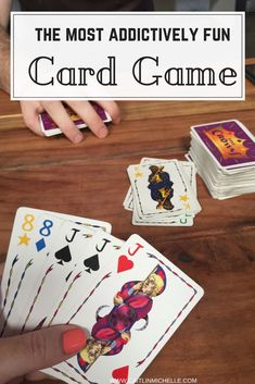 29 Trendy card games for two rummy Group Card Games, Family Card Games, Fun Card Games, Card Games For Kids, Playing Card Games, Games For Teens, Best Card Games, Party Games, Couples Game Night
