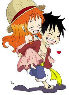 Luffy Nami