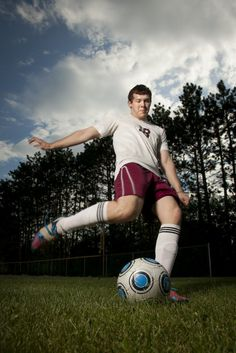 Rae of Light Photography | Senior Pictures | Cameron, WI | Senior Pictures Soccer; Guys Sports; Senior picture ideas for guys