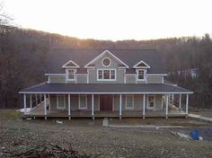 Country Style House Plans - 2098 Square Foot Home , 2 Story, 3 Bedroom and 2 Bath, 3 Garage Stalls by Monster House Plans - Plan 4-172  | Country St…