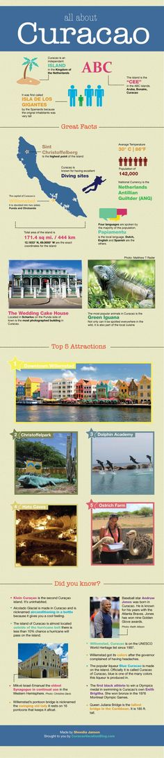 All About Curacao Travel Infographic http://curacaovacationblog.com/post/infographic-all-about-curacao/ #fluffyhero9 #adventure
