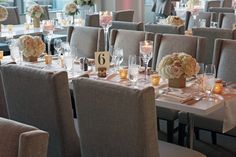 Le Meridien Arlington Wedding in the Amuse Restaurant. Northern Virginia Wedding venue!