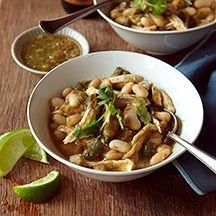 WeightWatchers.com: Weight Watchers Recipe - White Chicken Chili with Salsa Verde