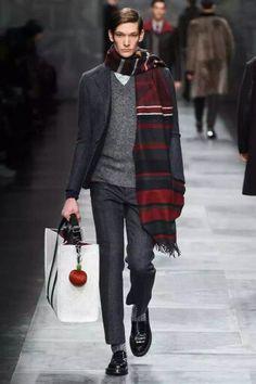 Fendi fall winter 2015 menswear
