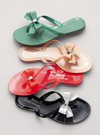 Bow Flip-flop  I will take all 4 pairs please!