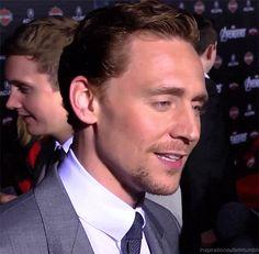 OHMYLOKI. Tom Hiddleston mouth GIF.