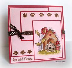 CC180 Doggy Friend by chrisd99 - Cards and Paper Crafts at Splitcoaststampers