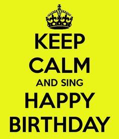 verjaardag man keep calm