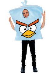 Boys Ice Bomb Costume - Angry Birds Space