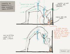 Yoga Poses & Workout : exercice de préparation à Urdhva Danurasana - posture de la roue Iyengar Yoga, Ashtanga Yoga, Pranayama, Patanjali Yoga Sutras, Yoga Girls, Partner Yoga, Yoga Routine, Asana, Yoga Fitness