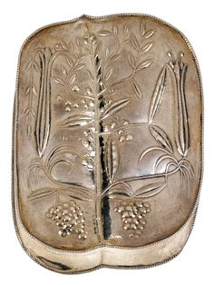 ** Dagobert Peche (1887-1923), Wiener Werkstätte, Silver Box.