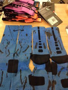 "Custom Nike Elite Socks ""Blue Oreo's"" · Sock Insanity · Online Store Powered by Storenvy Nike Elite Socks, Nike Socks, Elite Game, Funky Socks, Sexy Socks, Basketball Socks, Dream Shoes, Indie Brands, Sock Shoes"