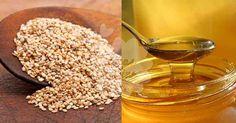 Fantástico! Mel e sementes de gergelim: uma mistura que vai apurar a sua saúde! - # #cabelo #gergelim #mel #ossos #pele