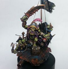 Ork Mad Pirate Kaptin, 40k, Freebooter