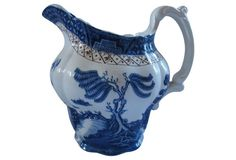 English Willow Quart Pitcher