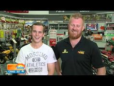 Australian heroes reveal how they stopped Oporto robbery thieves in hilarious interview today - YouTube