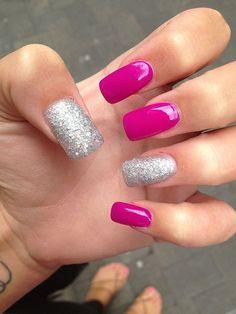 Cute Acrylic Nails Art Design 42