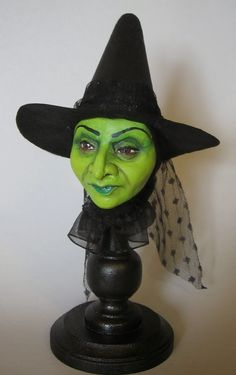 witch crafts: FINISHED HEADS - Love this idea