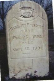 Harriett Elizabeth Prescott Allen   Mother of Milley Seleta (Betterton) Swindle.  Prescott Cemetery, Coffee County, Alabama