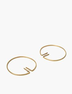 Fay Andrada rako hoop earrings