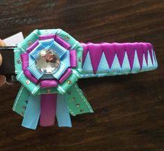 Ribbon browband by TessasBraidedBands on Etsy https://www.etsy.com/listing/270691431/ribbon-browband