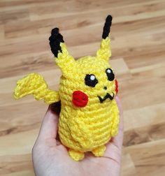 Ravelry: Pikachu Pokemon pattern by Nichole's Nerdy Knots