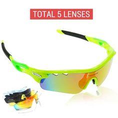0178125b867 Polarized Cycling Glasses (5 lens) - Cycling Series  PolarizedGlasses   Sunglasses  PolarizedCyclingGlasses