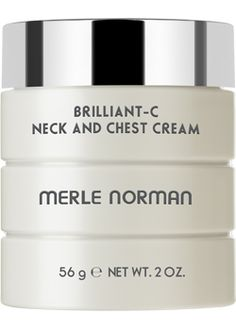 Brilliant-C Neck and Chest Cream  For all skin types and aging concerns.   The brilliant solution for keeping the delicate neck and chest areas looking youthfully refined! This advanced brightening cream targets both spots and discoloration. It helps diminish the appearance of spots with our exclusive Bright+ Complex® — a blend of Vitamin C and other brightening agents. Oil-free